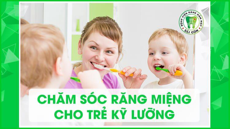 chăm sóc răng sữa cho con