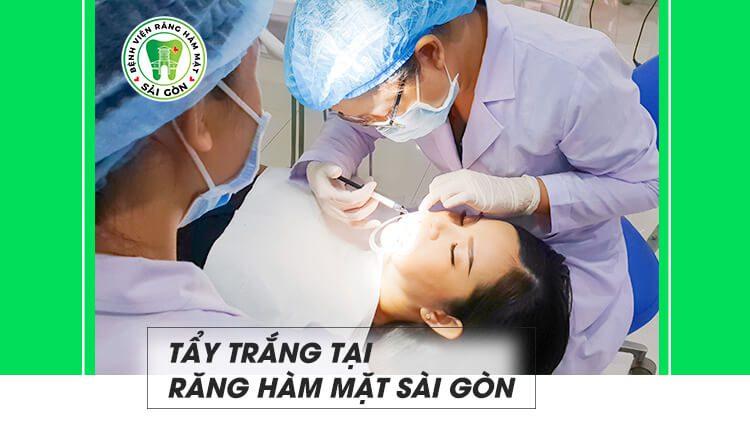 Phương pháp tẩy trắng răng an toàn