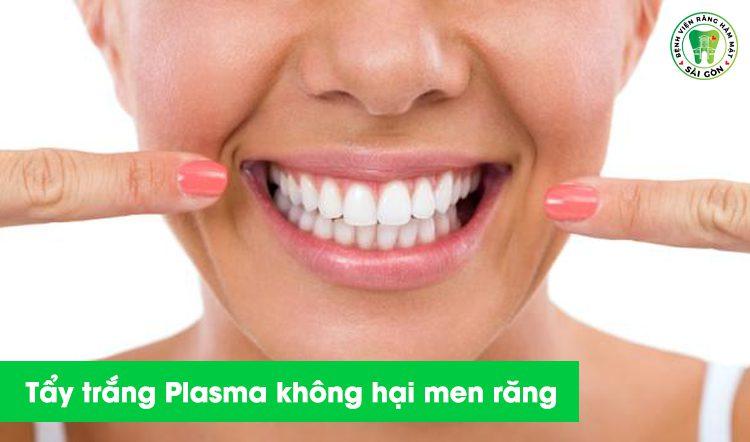 tẩy trắng không hại men răng