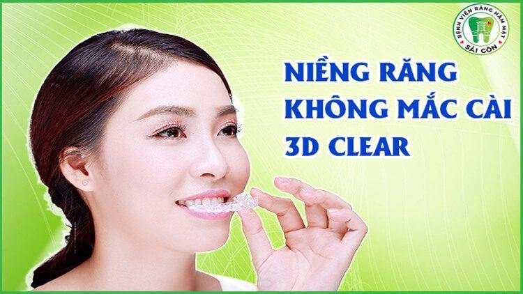 ưu điểm của 3D Clear