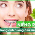 niềng răng có ảnh hưởng sức khỏe không