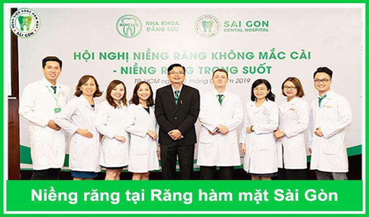 niềng răng tại Răng Hàm Mặt Sài Gòn