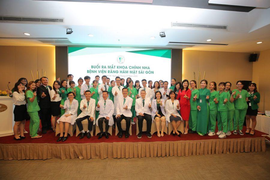 Ra mắt Khoa Chỉnh Nha Bệnh viện Răng Hàm Mặt Sài Gòn