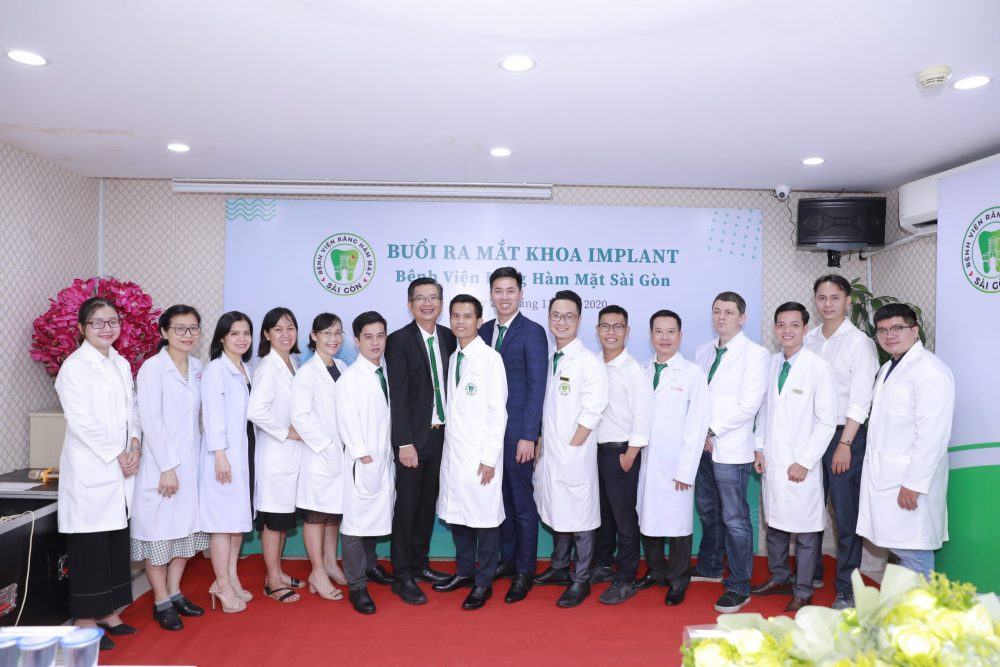 Ra mắt Khoa Implant Bệnh viện Răng Hàm Mặt sài Gòn