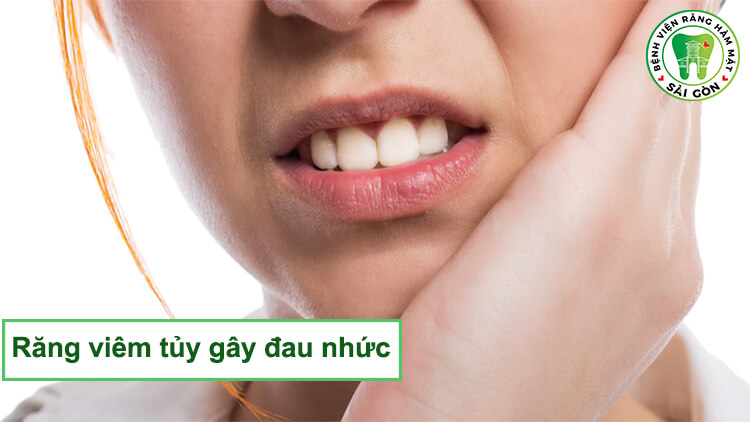 Răng đau nhức do hư tủy