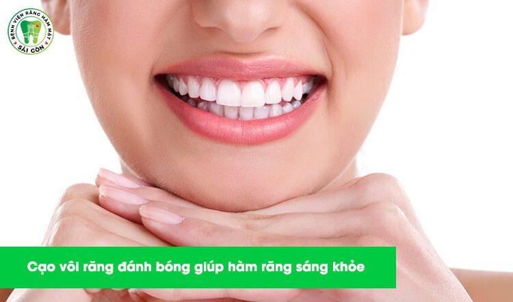 cạo vôi răng có hại gì không?