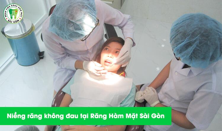 niềng răng tiêu chuẩn không đau