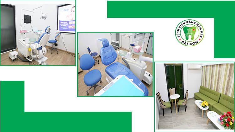 cơ sở vật chất nha khoa quận 1